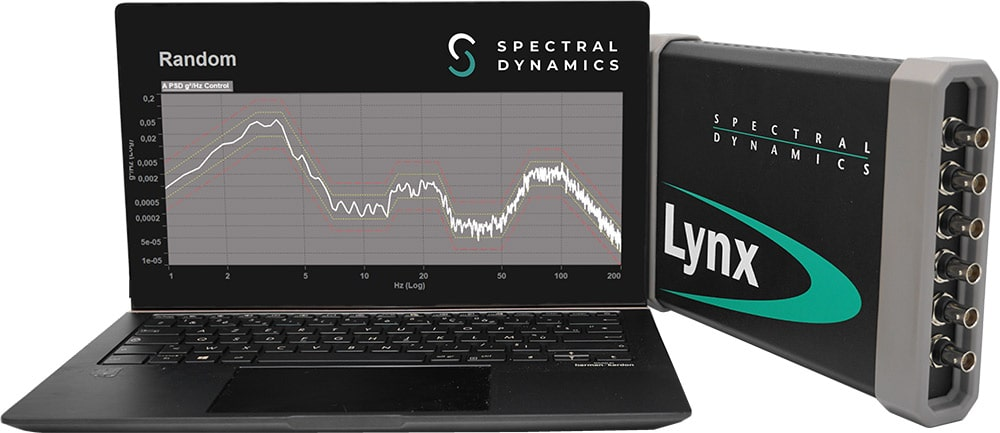 The LynxTM is a powerful, compact and affordable vibration test control system